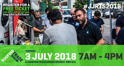 JJ Roofing Show 3rd July 2018!
