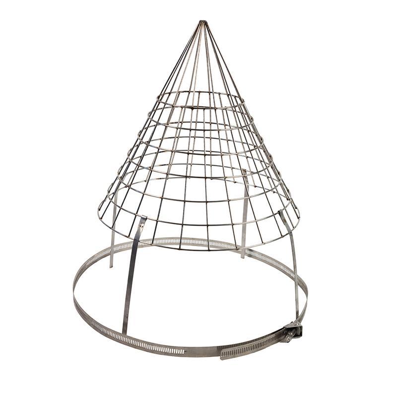Cone Top Birdguard Stainless Steel