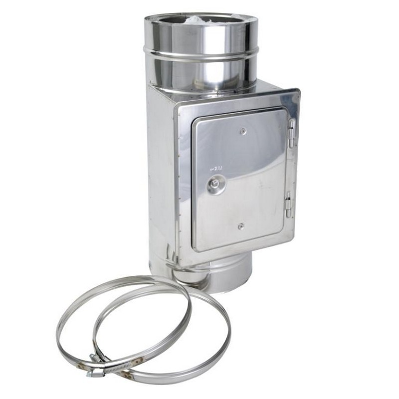 Inspection Box Twin Wall Flue Pipe